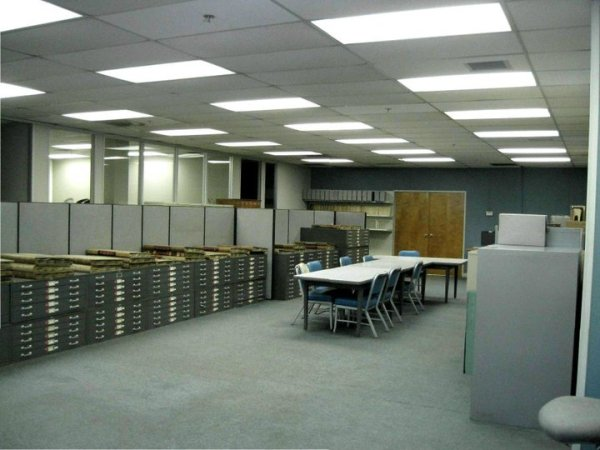 Search room of the Baltimore City Archives