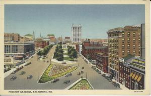 Preston Gardens, c. 1920s-1940s.