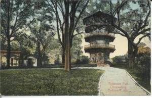 Patterson Park Observatory, c. 1907