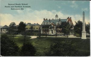 Samuel Ready School, c. 1910.