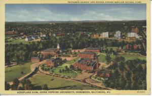 Johns Hopkins University, Homewood Campus, c. 1940