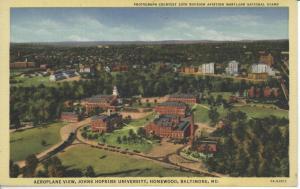 Johns Hopkins University, Homewood Campus, c. 1940