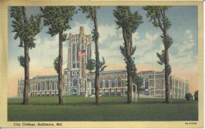 City College, around 1940