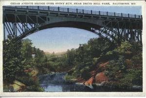 Cedar Avenue Bridge, around 1930.