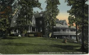 Baltimore Country Club, c. 1910