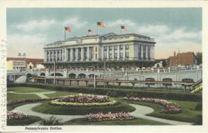 Pennsylvania Station, sent 1940.